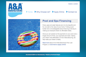 A and A Pool Financing
