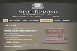 Silver Diamond Monuments